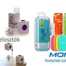 Pencart Zrt. - hordozható akkumulátortöltők, hálózati és USB elosztók