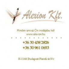 Alexion Irodaszer Webáruház