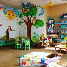 Könyvtár- gyereksarok