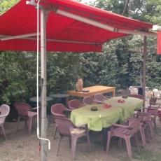 Lila-Fehérke Vendégház - Étterem - Söröző - Borozó - terasz