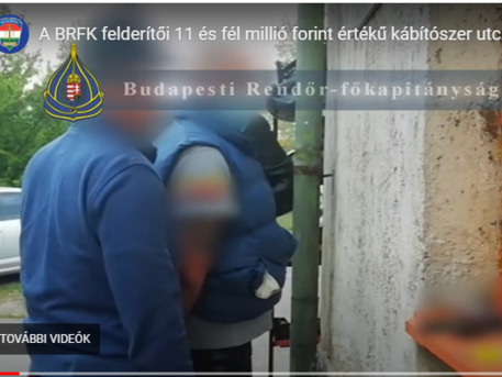 Rendőrségi akció Zuglóban: drogosokra csaptak le a rendőrök