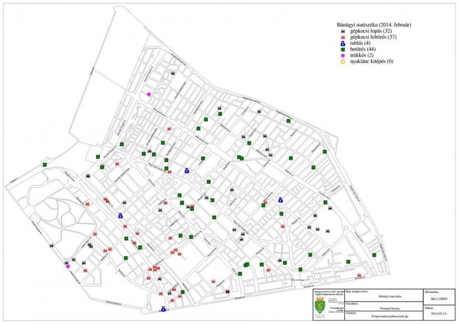 14 kerület térkép XIV. kerület   Zugló | Bűnügyi térkép Zuglóban: betörésből és  14 kerület térkép