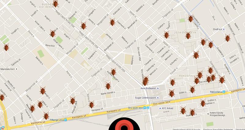 bp térkép 14 ker XIV. kerület   Zugló | Íme Zugló poloskatérképe! Nézd meg  bp térkép 14 ker