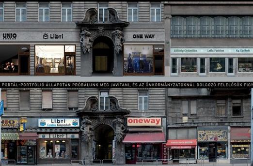 Gfodor projekt a Kossuth Lajos utcáról